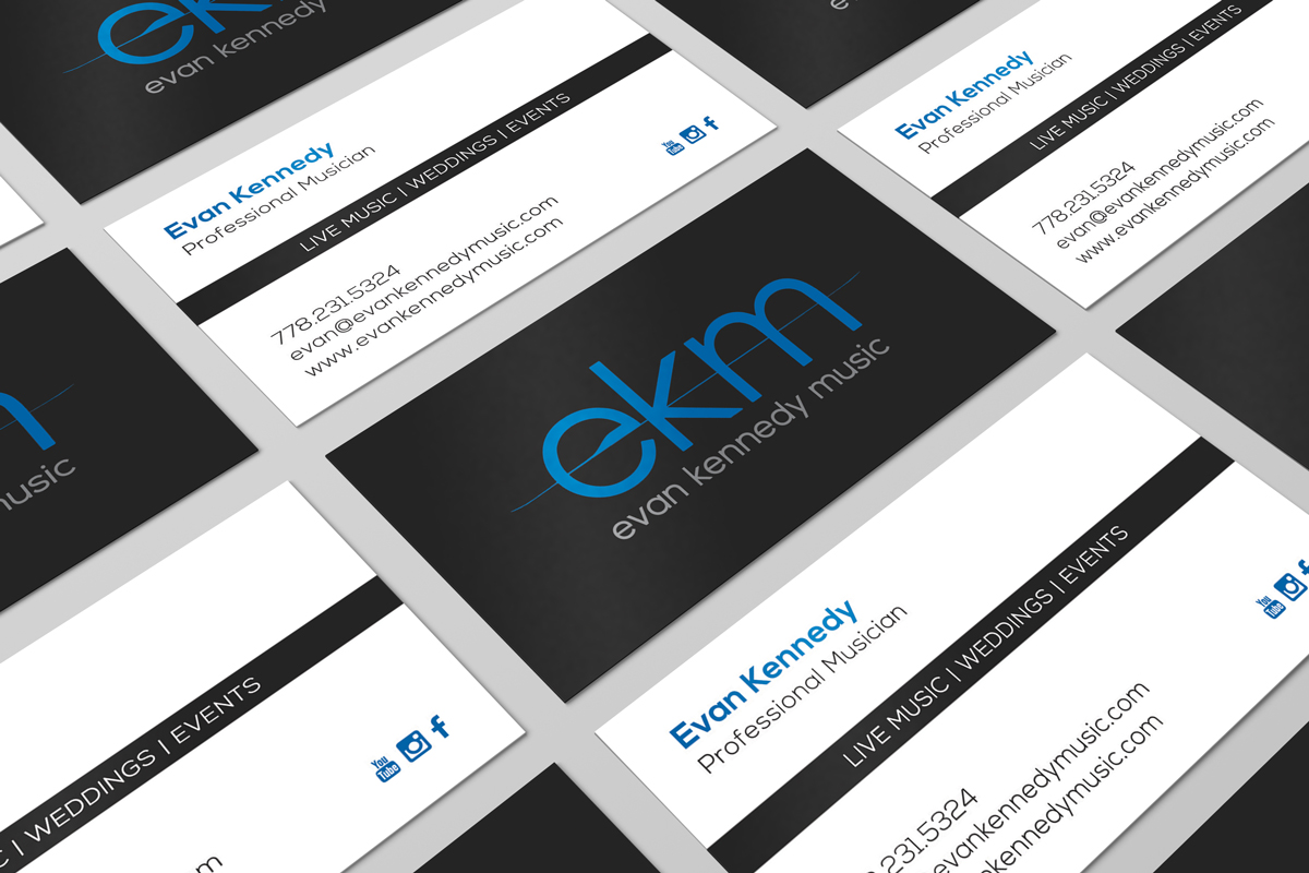 Terri kennedy design evan kennedy music evan kennedy musicbusiness card design magicingreecefo Images